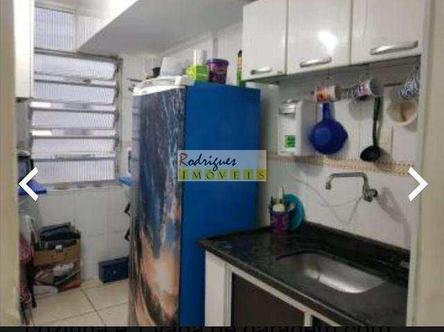 Apartamento, Itararé, São Vicente - R$ 170 mil, Cod: 3143