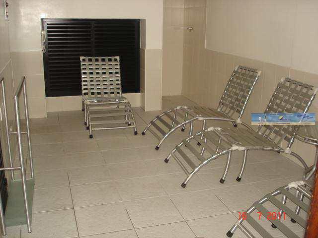 Sala de relaxamento ( sauna seca e vapor )