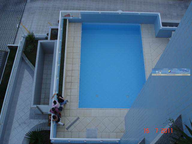 Piscina ( vista panorâmica da varanda do quarto principal )