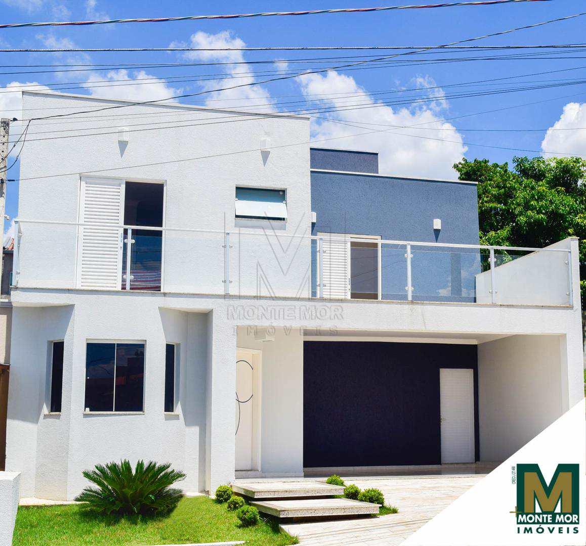 Linda Casa com 4 dorms -  Reserva da Mata - Monte Mor - SP