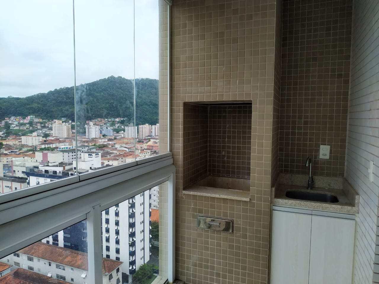Apartamento com 3 dorms, Marapé, Santos - R$ 785 mil, Cod: 24655