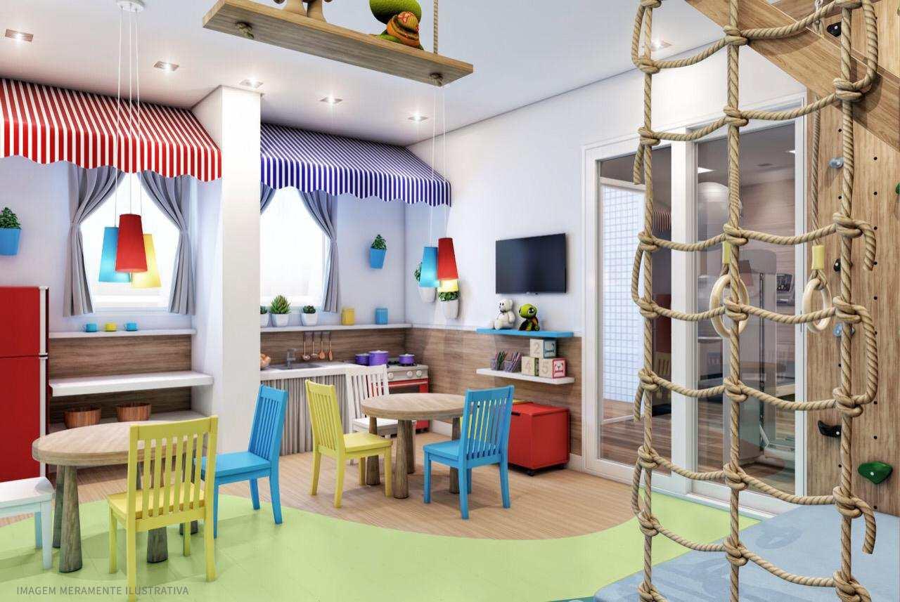 Apartamento com 1 dorm, Guilhermina, Praia Grande - R$ 261 mil, Cod: 24718