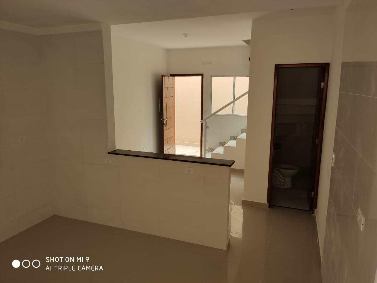 Sobrado com 2 dorms, Real, Praia Grande - R$ 190 mil, Cod: 24800