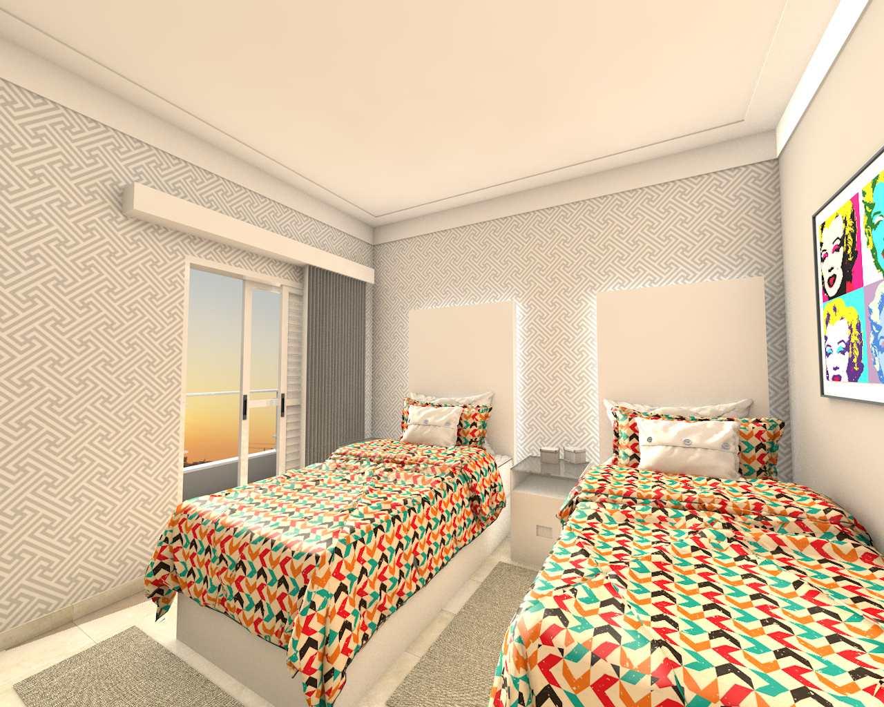 Apartamento com 2 dorms, Aviação, Praia Grande - R$ 275 mil, Cod: 24826