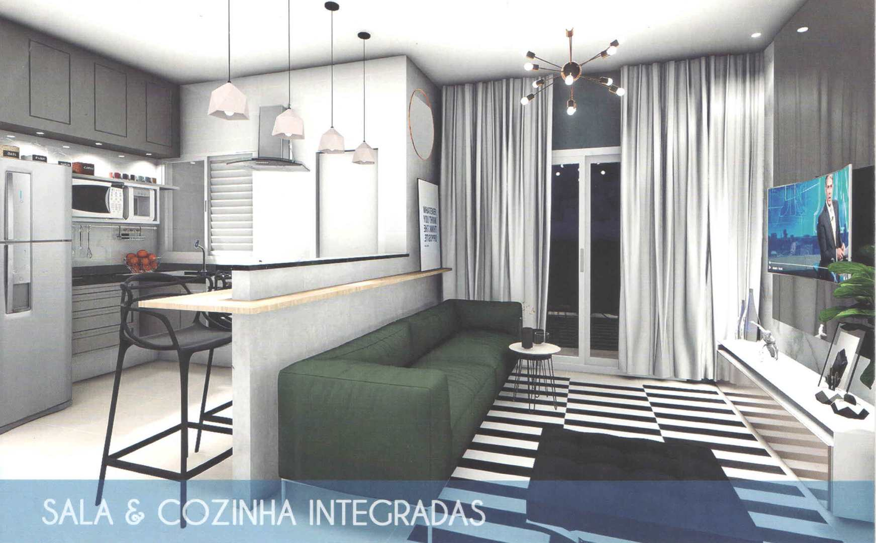 Apartamento com 2 dorms, Vila Nova, Cubatão - R$ 225 mil, Cod: 24837