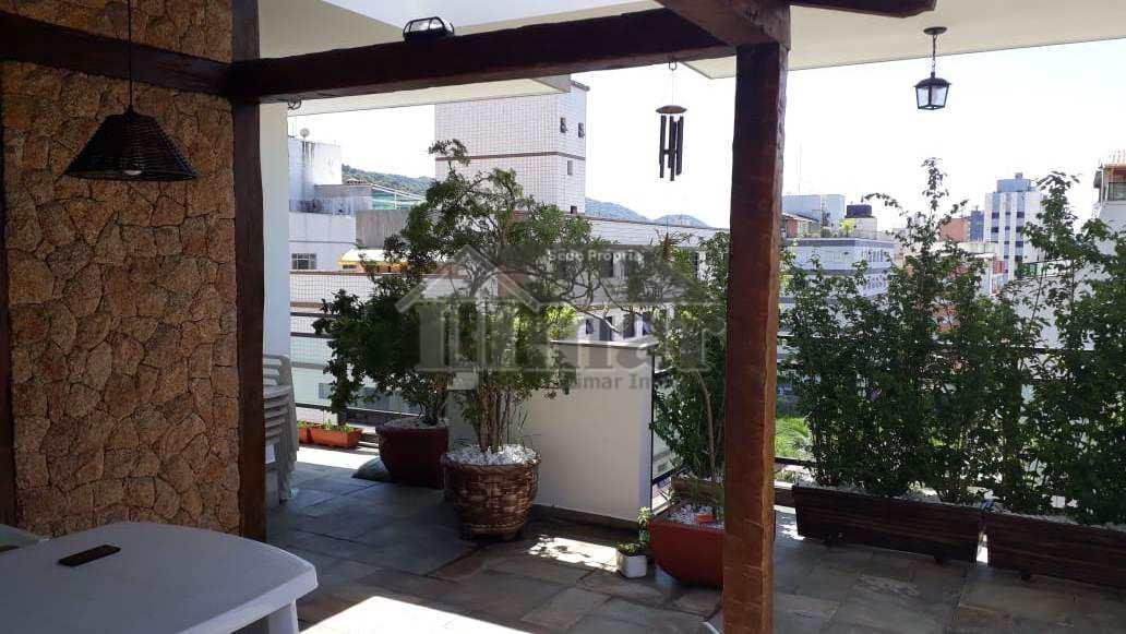 Cobertura com 4 dorms, Praia da Enseada, Guarujá - R$ 870 mil, Cod: 4897