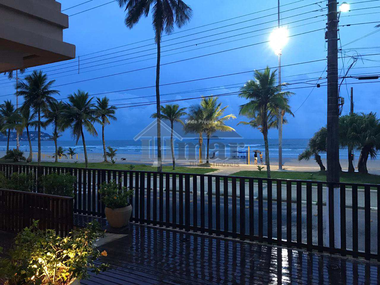 Locação apto frente ao mar, Guarujá, Cod: 5195
