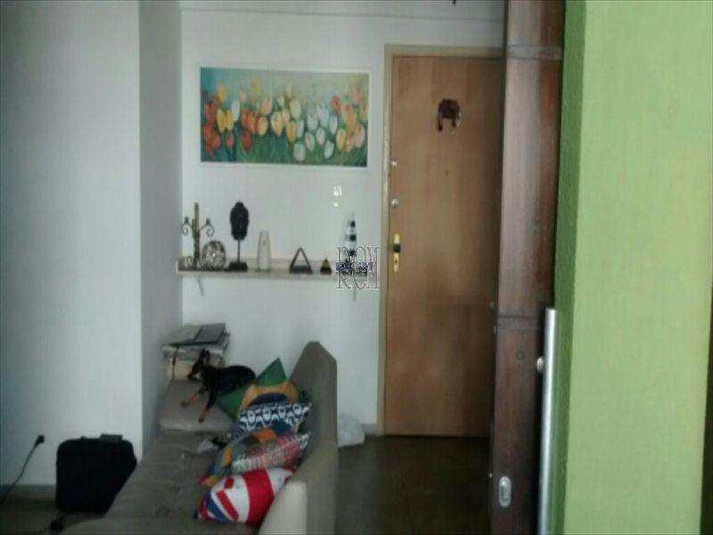 Sala Living com 1 dorm, Centro, São Vicente - R$ 180 mil, Cod: 2887