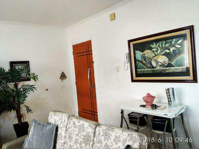 Apartamento com 1 dorm, Centro, São Vicente - R$ 195 mil, Cod: 1856