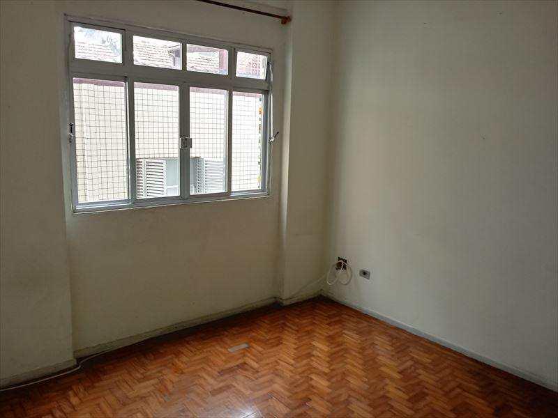Apartamento com 1 dorm, Itararé, São Vicente - R$ 170 mil, Cod: 1829