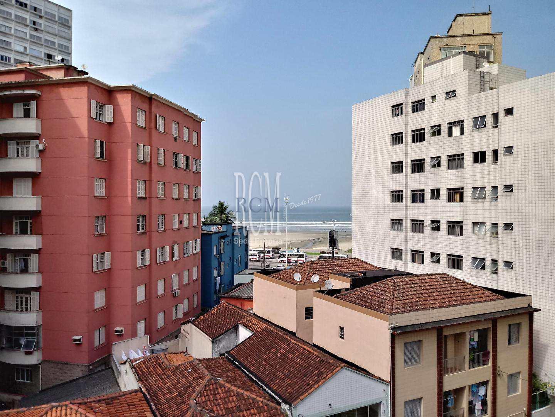 Apartamento com 1 dorm, Itararé, São Vicente - R$ 160 mil, Cod: 1781