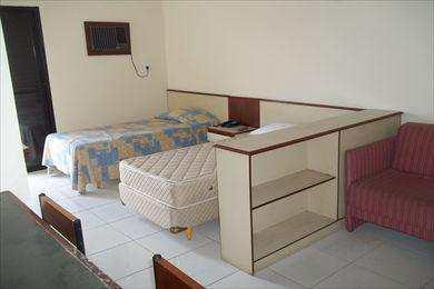 Flat com 1 dorm, Centro, São Vicente - R$ 150 mil, Cod: 963