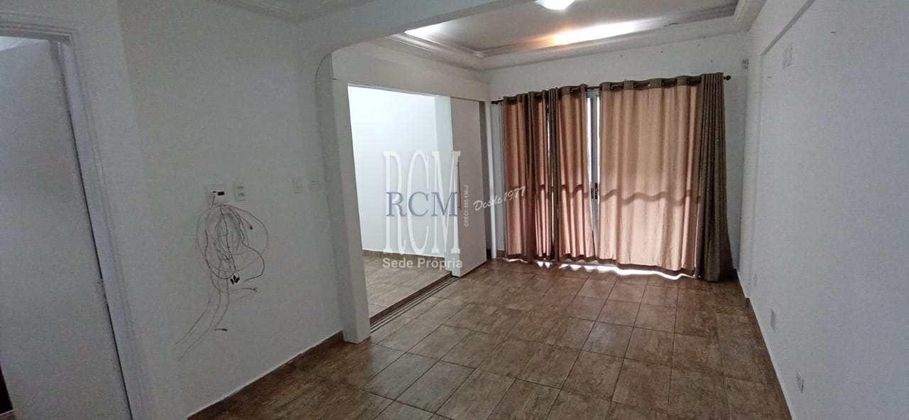 Sala Living com 1 dorm, Centro, São Vicente - R$ 212 mil, Cod: 776