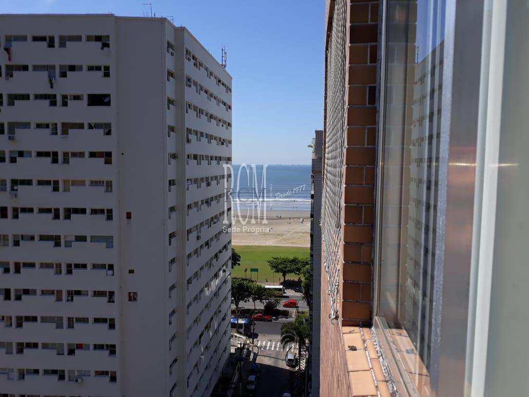 Apartamento com 1 dorm, Itararé, São Vicente - R$ 290 mil, Cod: 91195