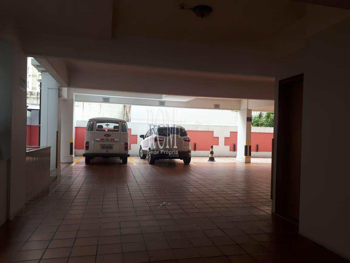 Apartamento com 2 dorms, Itararé, São Vicente - R$ 420 mil, Cod: 91301