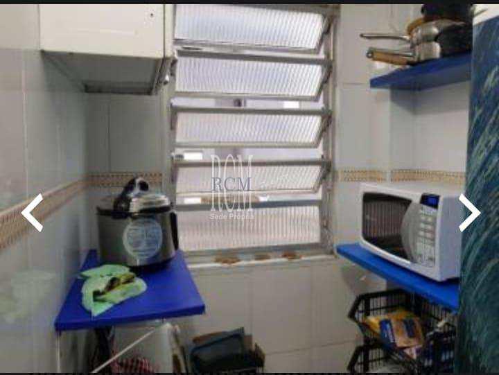 Sala Living com 1 dorm, Itararé, São Vicente - R$ 150 mil, Cod: 91325