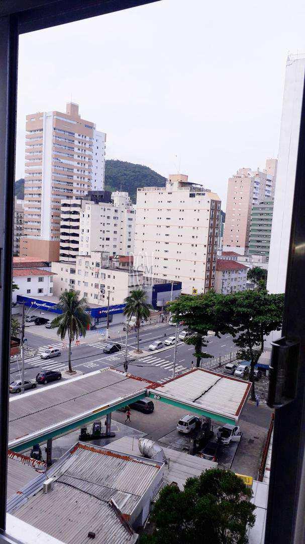 Apartamento com 2 dorms, Centro, São Vicente - R$ 350 mil, Cod: 91363