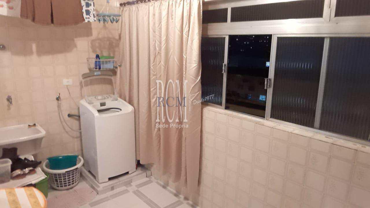 Apartamento com 2 dorms, Marapé, Santos - R$ 390 mil, Cod: 91374