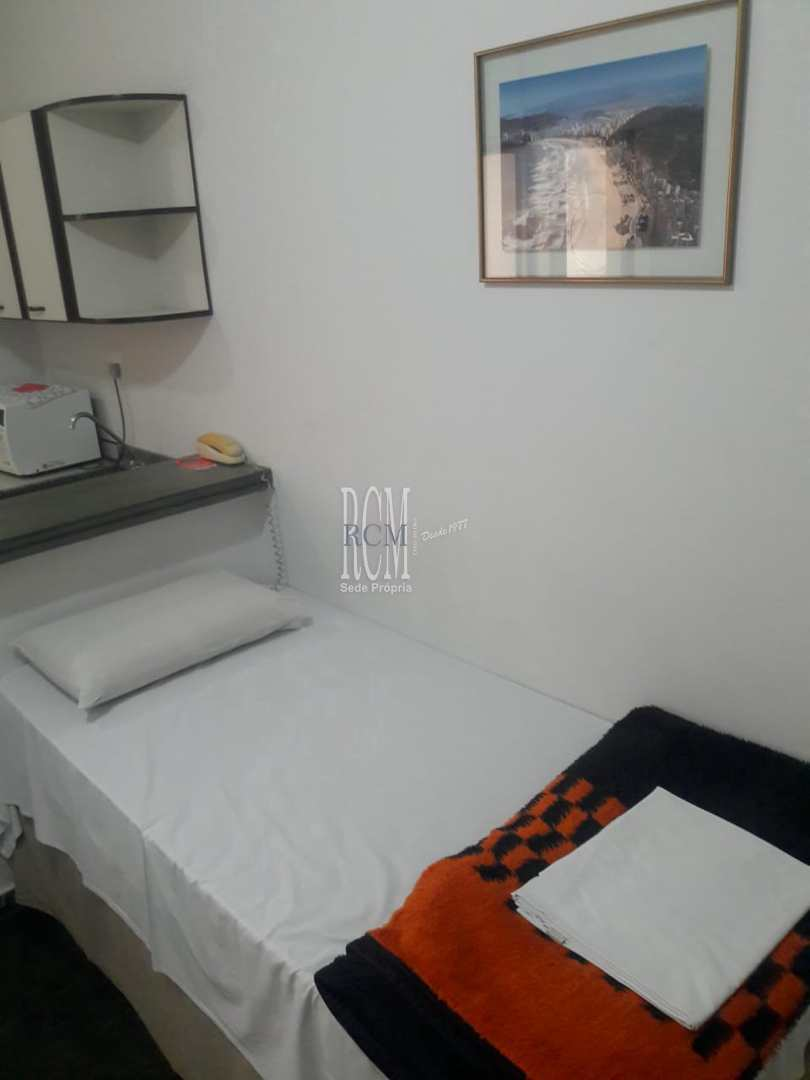 Flat com 1 dorm, Itararé, São Vicente, Cod: 91438