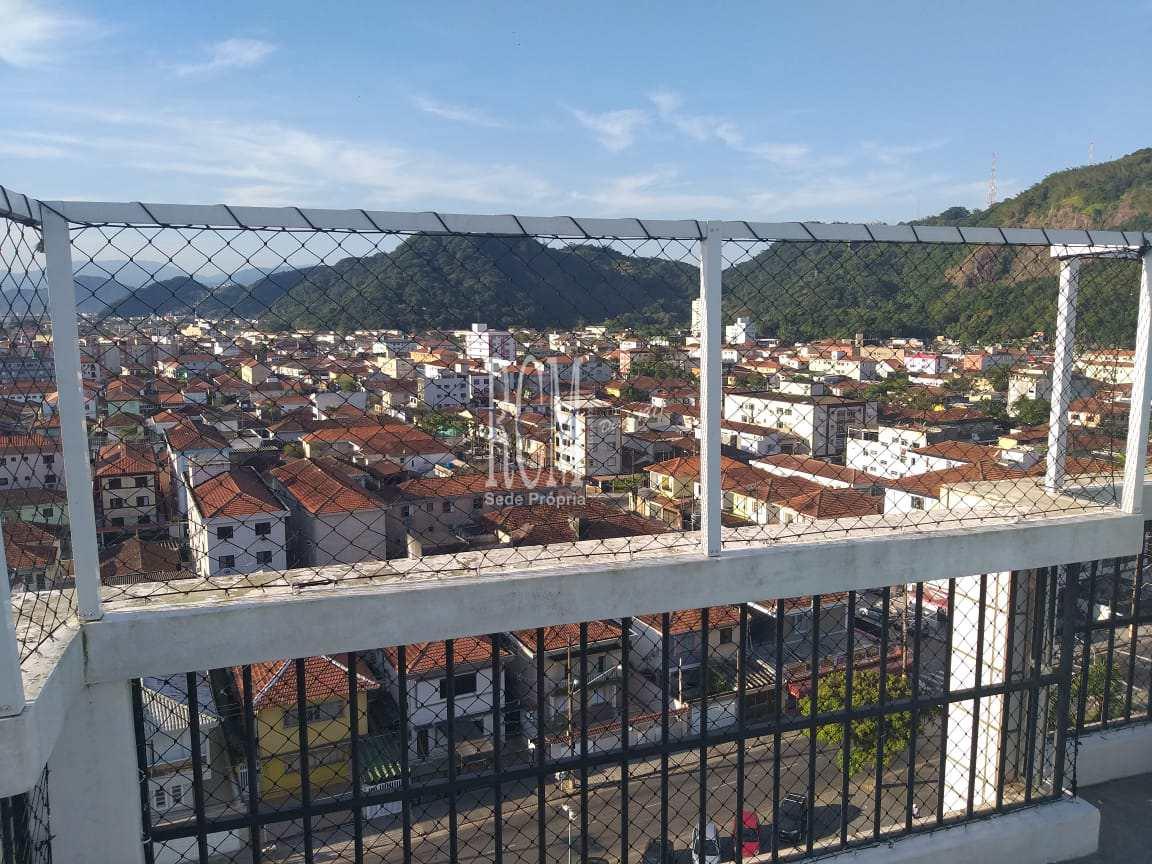 Cobertura com 2 dorms, Itararé, São Vicente - R$ 695 mil, Cod: 91468