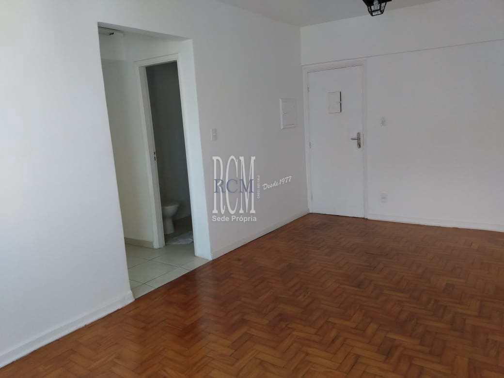 Sala Living com 1 dorm, Centro, São Vicente, Cod: 91473