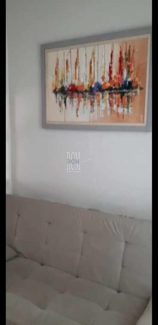 Sala Living com 1 dorm, Itararé, São Vicente - R$ 150 mil, Cod: 91517