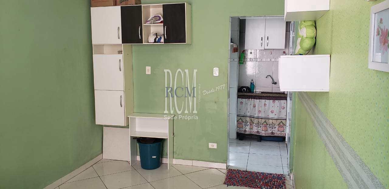 Sala Living com 1 dorm, Itararé, São Vicente - R$ 115 mil, Cod: 91517