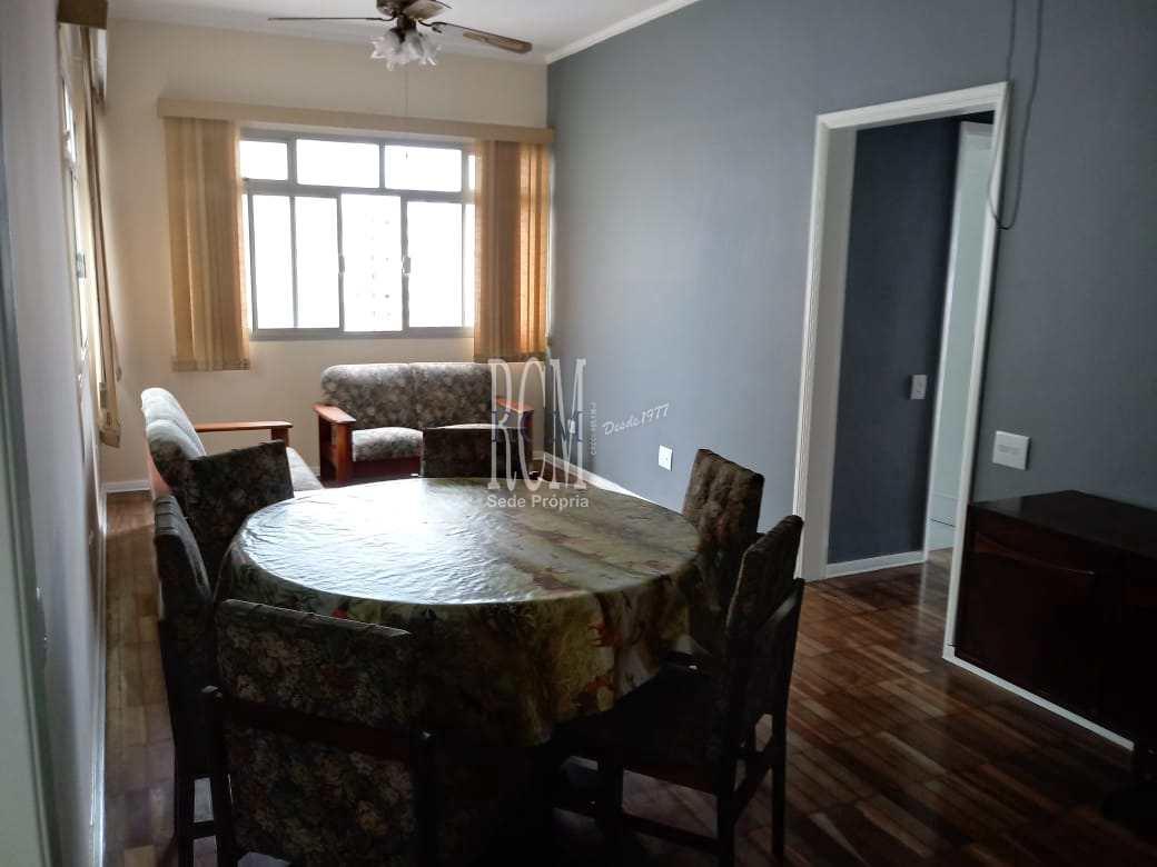 Apartamento com 2 dorms, Itararé, São Vicente - R$ 350 mil, Cod: 91664
