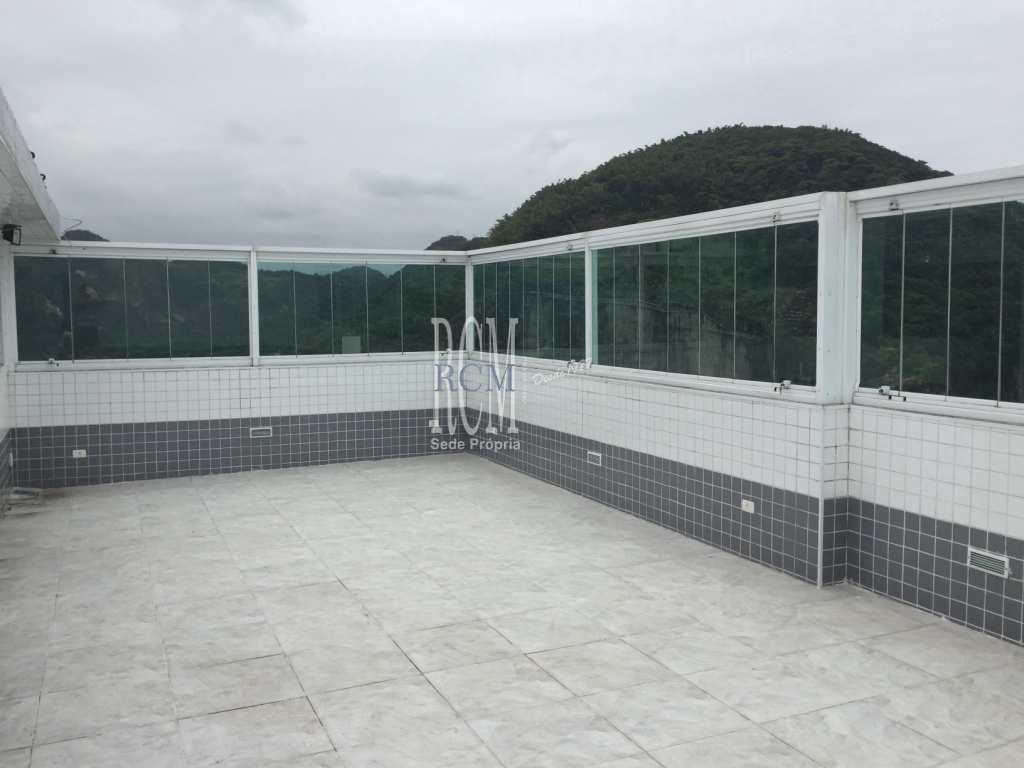 Cobertura com 5 dorms, Centro, São Vicente - R$ 1.2 mi, Cod: 91837