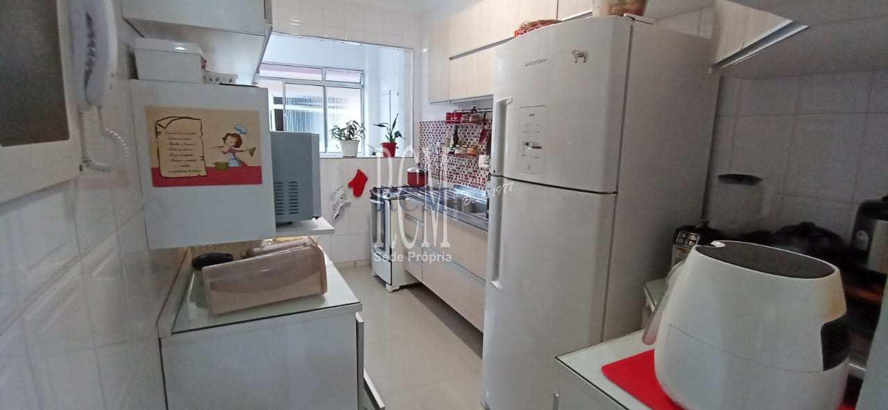 Apartamento com 2 dorms, Centro, São Vicente - R$ 298 mil, Cod: 91854