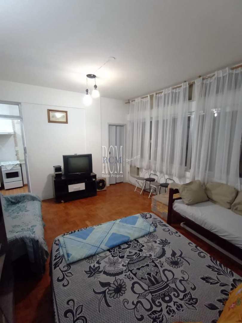 Kitnet com 1 dorm, Centro, São Vicente - R$ 160 mil, Cod: 91866