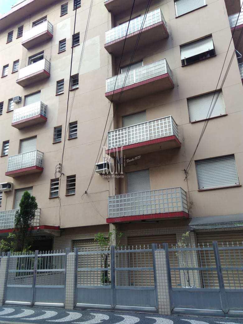 Sala Living com 1 dorm, Gonzaga, Santos - R$ 210 mil, Cod: 91895