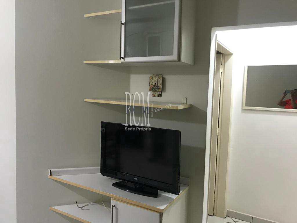 Sala Living com 1 dorm, Centro, São Vicente - R$ 175 mil, Cod: 91928