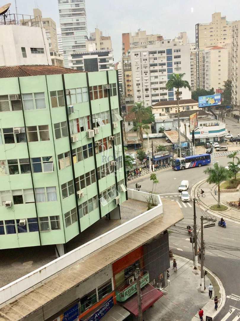 Apartamento com 3 dorms, Gonzaga, Santos - R$ 450 mil, Cod: 91984