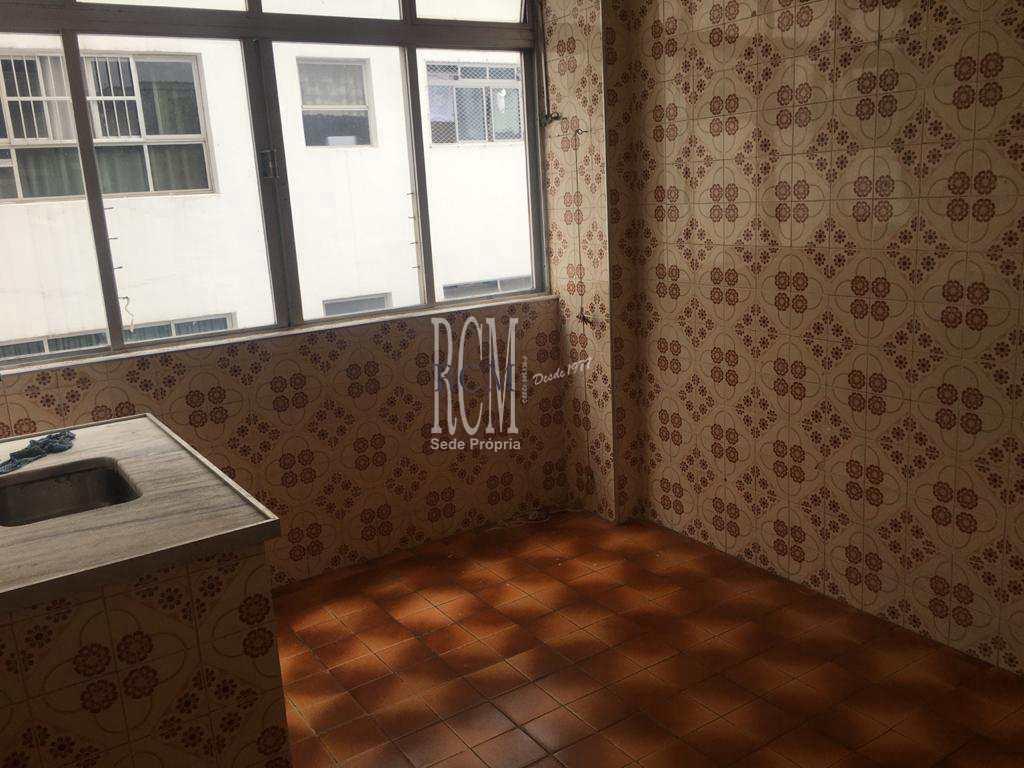 Sala Living com 1 dorm, Centro, São Vicente - R$ 170 mil, Cod: 92054