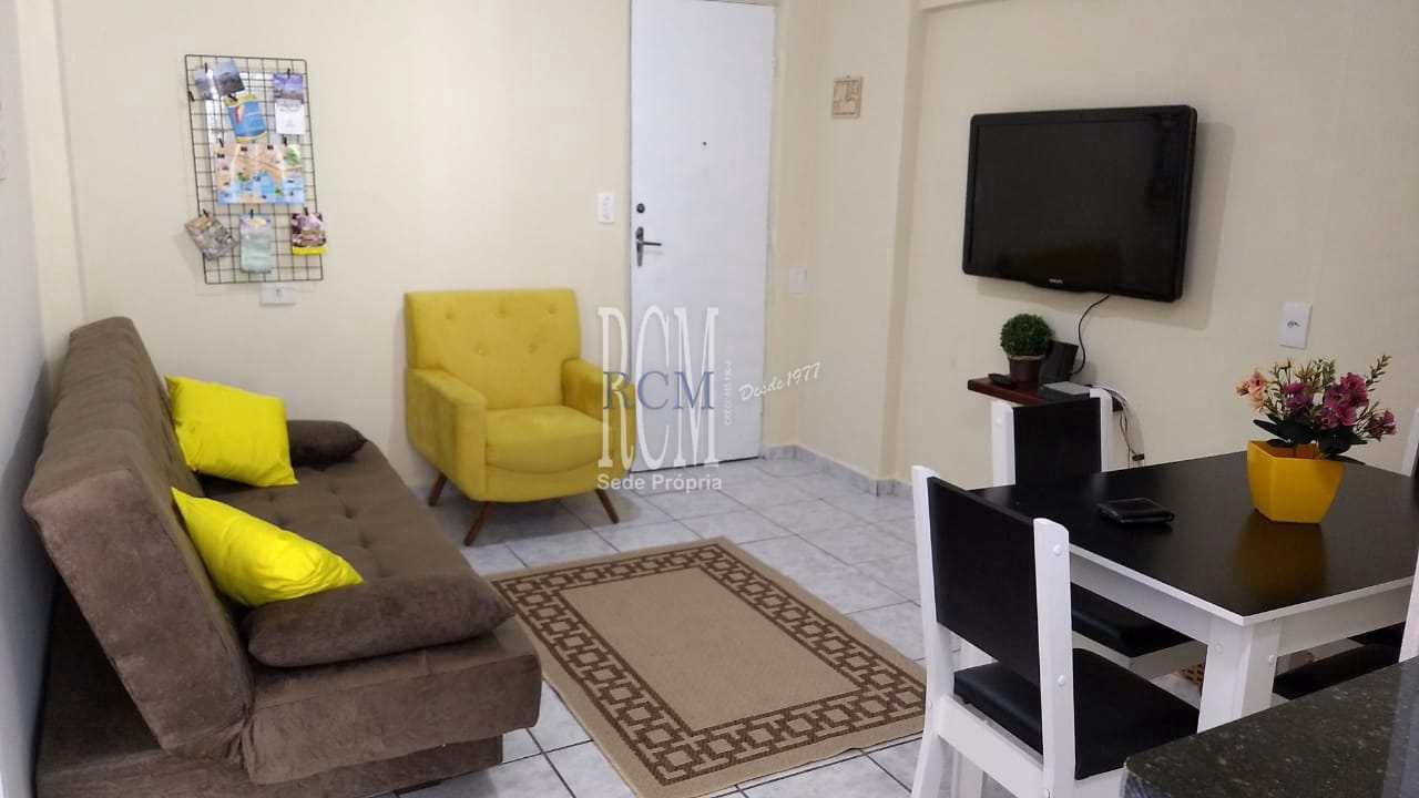 Apartamento com 1 dorm, Centro, São Vicente, Cod: 92079