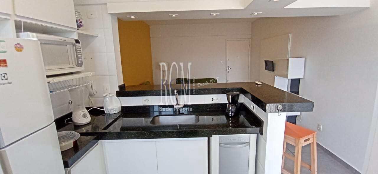 Apartamento com 1 dorm, Centro, São Vicente - R$ 260 mil, Cod: 92135