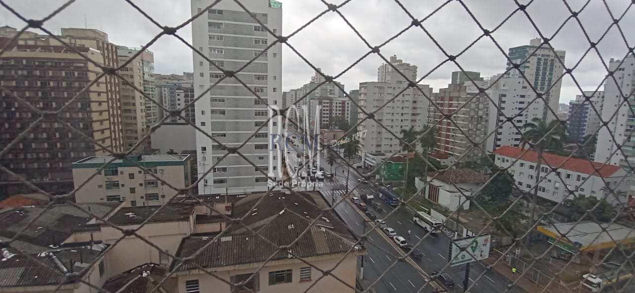 Apartamento com 1 dorm, Itararé, São Vicente, Cod: 92208