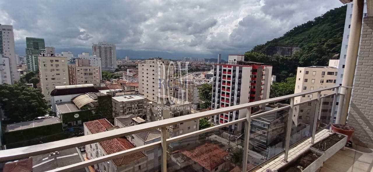 Apartamento com 2 dorms, Itararé, São Vicente - R$ 370 mil, Cod: 92232