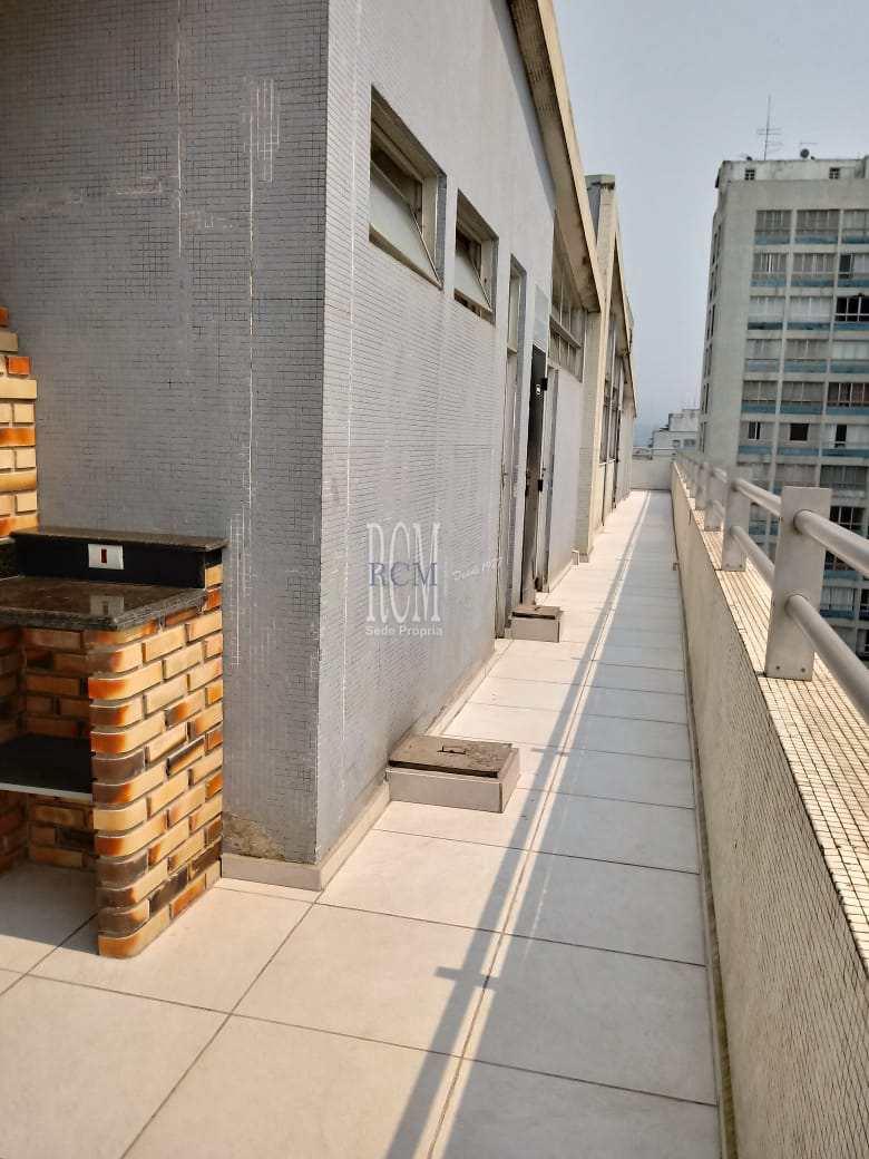 Apartamento com 3 dorms, Itararé, São Vicente - R$ 580 mil, Cod: 92298