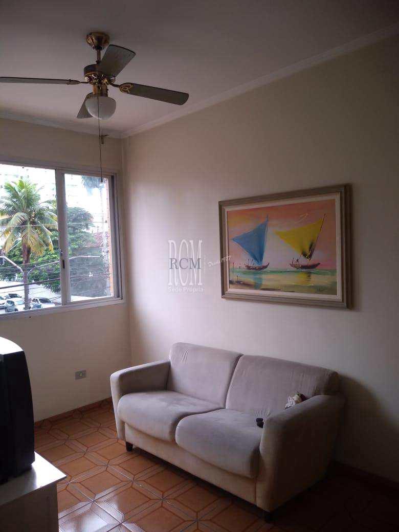 Apartamento com 1 dorm, Itararé, São Vicente - R$ 205 mil, Cod: 92401