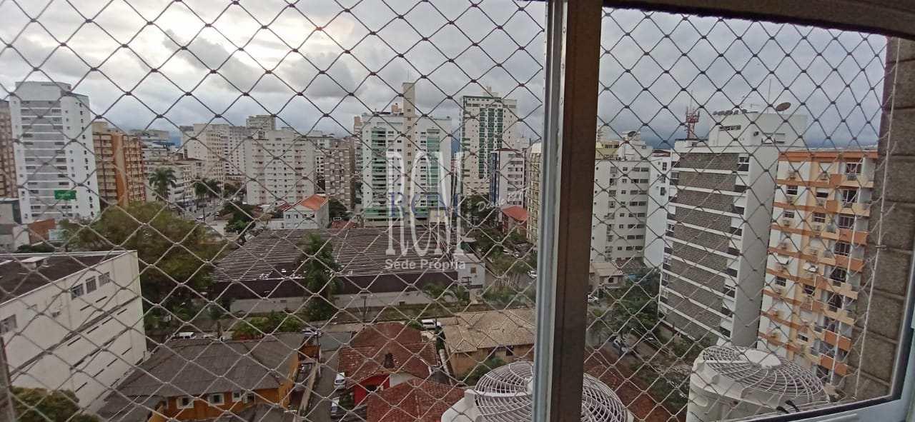 Apartamento com 3 dorms, Itararé, São Vicente - R$ 390 mil, Cod: 92627