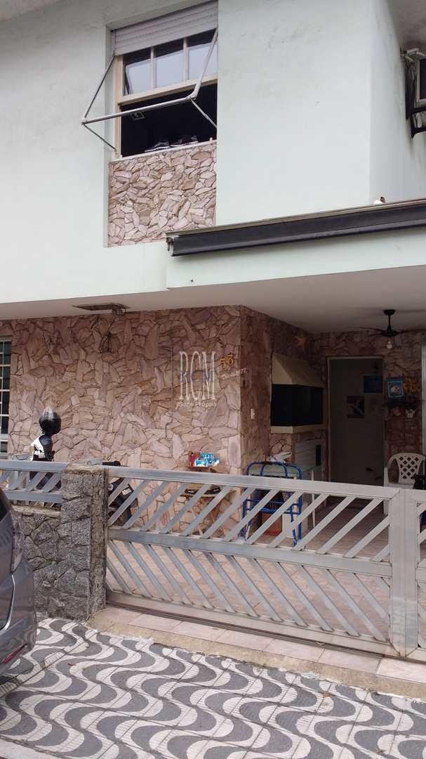 Casa de Vila com 3 dorms, Aparecida, Santos - R$ 1.2 mi, Cod: 92756