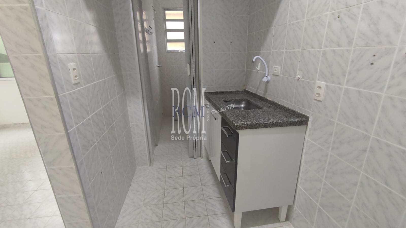 Sala Living com 1 dorm, Itararé, São Vicente, Cod: 92762