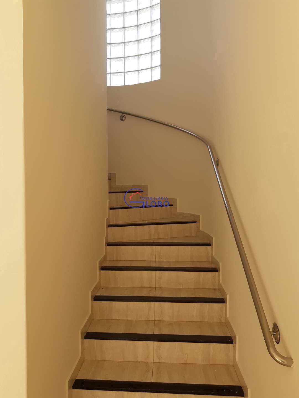 Escada de acesso aos dormitorios