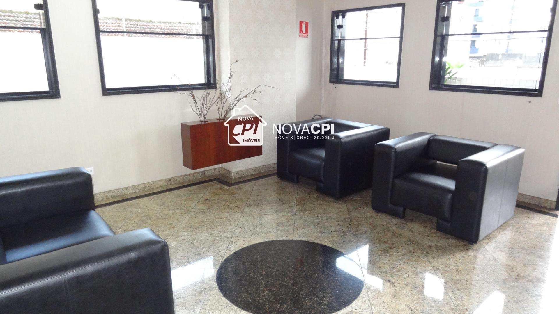 29- HALL DE ENTRADA ANGULO 02-APARTAMENTO EM PRAIA GRANDE