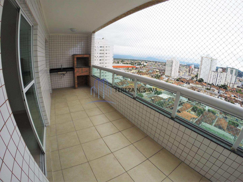 Apartamento com 2 dorms, Guilhermina, Praia Grande - R$ 430 mil, Cod: 1231
