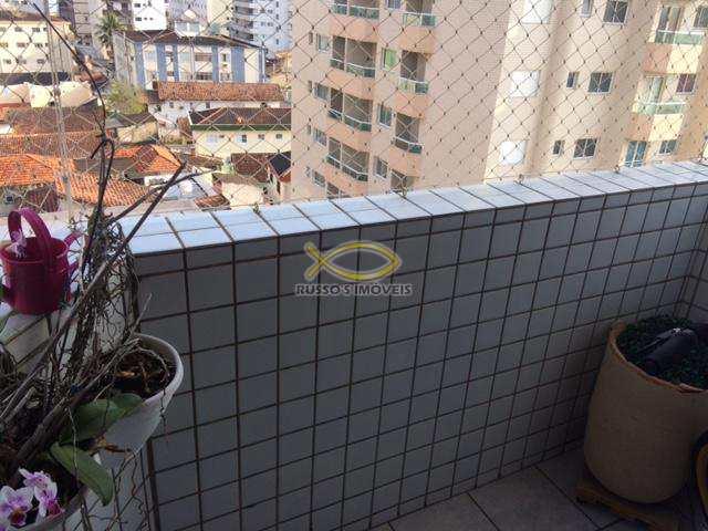 Apartamento com 2 dorms, Guilhermina, Praia Grande - R$ 320.000,00, 80m² - Codigo: 60018213