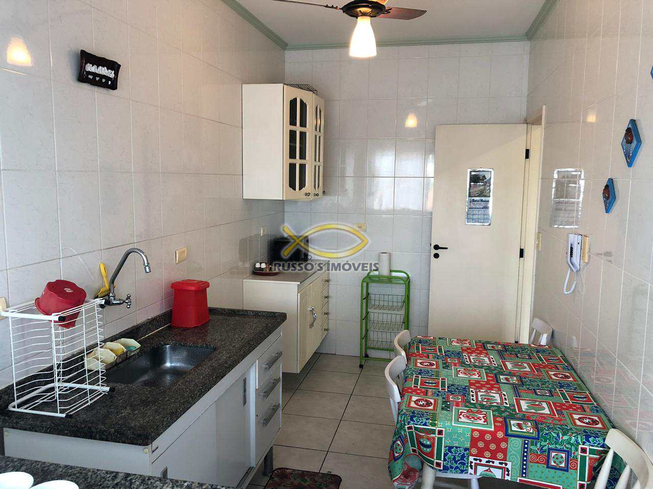 Apartamento com 2 dorms, Caiçara, Praia Grande - R$ 230 mil, Cod: 60019242
