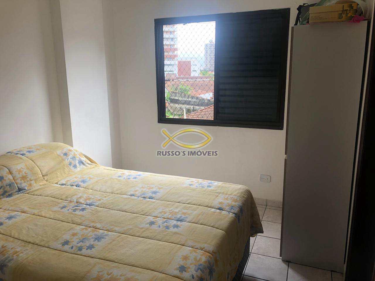 Apartamento com 2 dorms, Guilhermina, Praia Grande - R$ 199 mil, Cod: 60019673